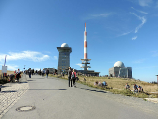 Der Brocken 1142m
